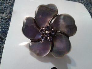 Anillo Diseño Flor Nacarado Medida 16 Aprovechalo