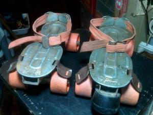 Antiguos patines Patinbal (similares a los Leccese)