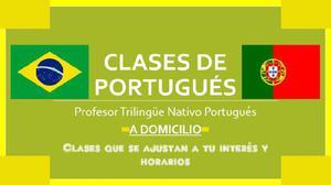 Clases de Portugués (Prof Nativo)