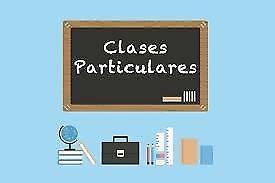 Clases particulares de química, biología, matemática y