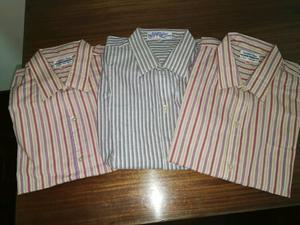 Lote 3 camisas hombre