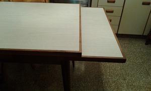 Mesa de formica rectangular y mar del plata posot class for Formica madera