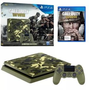 NUEVA Ps4 Slim 1 TB Edicion Limitada Call Of Duty WWII