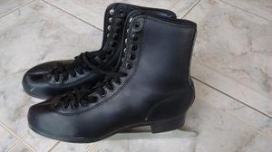 Patines para hielo T38 negros