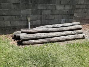 Postes De Quebracho De 2.40 mts