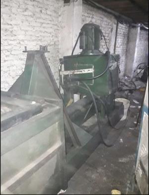 Prensa hidráulica compactadora de chatarra con equipo