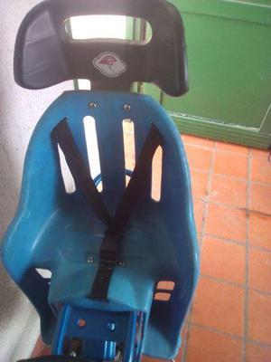 SILLITA PORTA NIÑOS TRASERA PARA BICICLETA $ 350