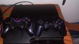 Vendo play 3 slim con 5 juegos digitales con dos controles
