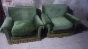 vendo dos sillones antiguos..