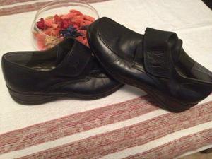 zapatos de cuero numero 38