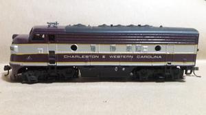 Athearn Locomotora Dummy Diesel Charleston Ho Muy Buena !