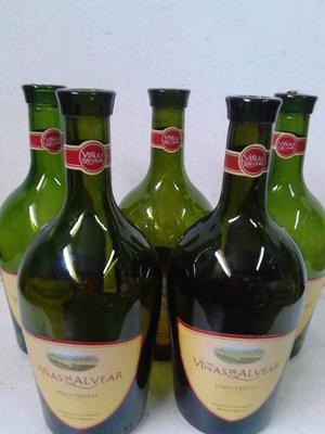 Botellas de vino vacias x 10 VINA DE ALVEAR 1125