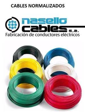 """CABLES O CONDUCTORES ELECTRICOS NORMALIZADOS """"NASELLO"""" O"""