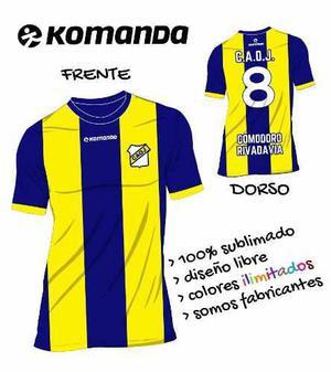 Camiseta de futbol sublimada para todos los deportes b156ba0361814