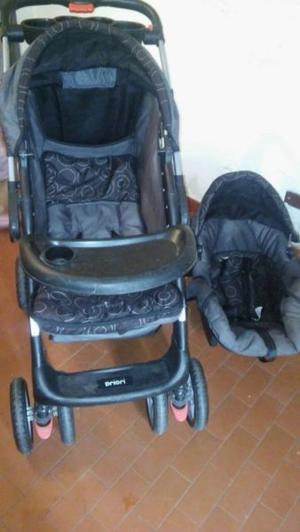 Combo de coche cuna y huevito para bebés Marca Priori en