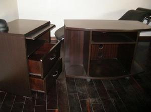 OPORTUNIDAD!! Calidad y precio!! Mesa de luz y mueble TV