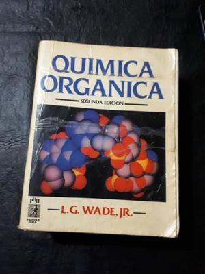 Química orgánica. 2° edición. L.G. Wade, JR.