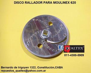 disco aluminio para procesadora moulinex 620