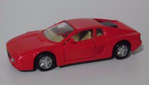 Auto Ferrari 512TR Shell Colección Maisto Esc. 1/39