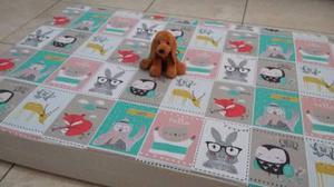 Colchón Placa Perros Ideal Adultos (70cm X 100cm X 10cm)