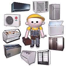 Instalación y reparación de aire acondicionado, heladeras