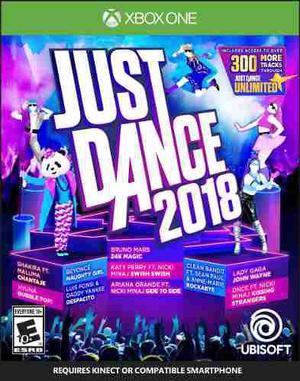 Just Dance 2018 Xbox One - Fisico - Nuevo