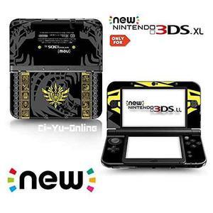 Nuevo 3ds Xl Monster Hunter 4 Goa Magara Negro Edición Limi