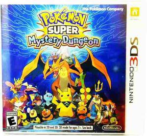 Pokemon Super Mystery Dungeon - Nintendo 3ds Fisico