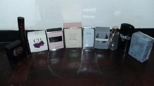 Vendo frascos vacíos de perfumes