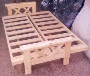 Vendo futon sin colchón