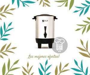 Cafetera Eléctrica Acero 3 Litros Dispenser 20 Tazas Sikla