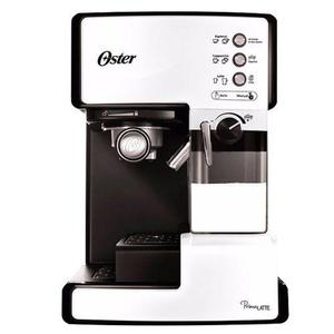 Cafetera Oster Prima Latte Capuccino Late Expres 6601 Blanco