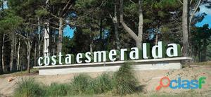 Dos Lotes en Costa Esmeralda Senderos