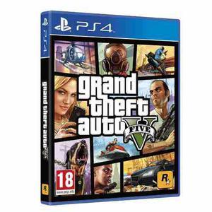 Grand Theft Auto V Ps4 - Fisico - Nuevo