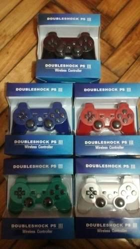 Joystick Para Ps3 Inalambrico Colores Dualshock