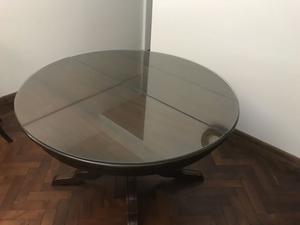 Mesa de cedro estilo ingles