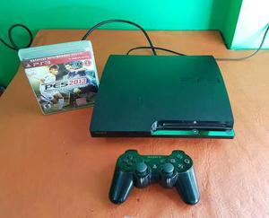Playstation 3 Slim 160gb + 1 Joystick + 3 Juegos Completa