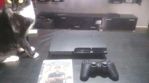 Playstation 3 Slim 160gb Impecable! Completa! Poco Uso