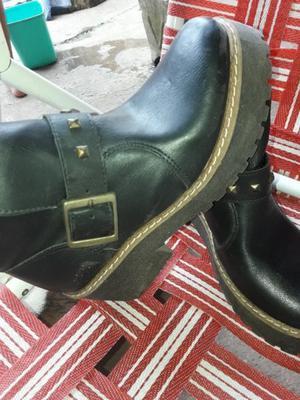 Vendo botas impecables n 38