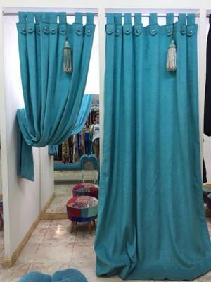 Vendo cortinas de chenille