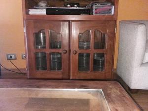 Vendo mueble de algarrobo
