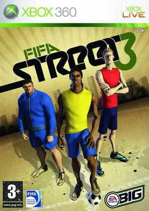 Fifa Street 3 Xbox 360 Nuevo Fisico Sellado Original