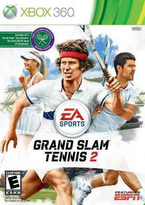 Grand Slam Tennis 2 Nuevo Fisico Xbox 360 Dakmor
