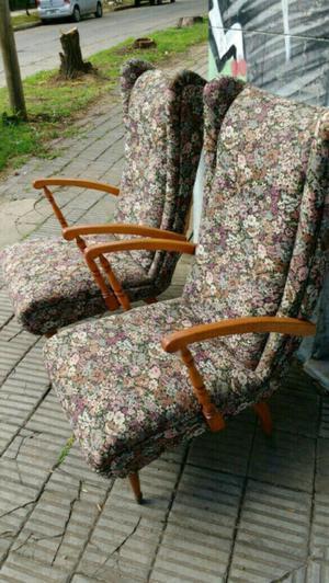 Hermosos sillones antiguos de estilo