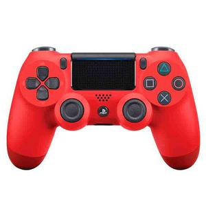 Joystick Dualshock 4 V2 Sony Original Rojo Sellado Fact A B
