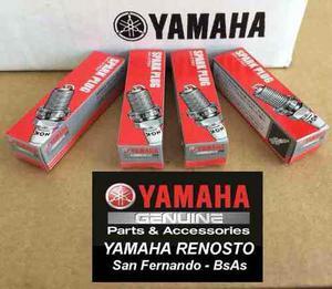 Kit De 4 Bujías Originales Para Motos De Agua Yamaha 1100