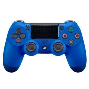 New Joystick Dualshock 4 V2 Original Azul Wave Blue Fact A B