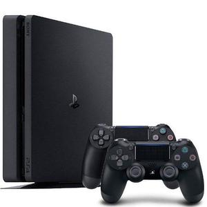 Playstation 4 Sony Ps4 Play4 Slim 1tb + 2 Joystick Venex