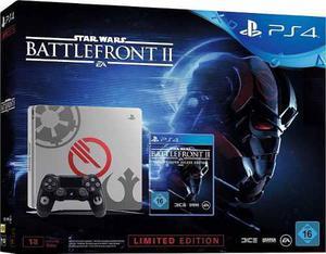 Ps4 / 1 Tb / Edición Especial Battlefront 2 Star Wars
