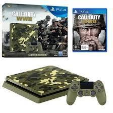 Ps4 Slim Sony 1tb Tera Edicion Limitada Call Of Duty Ww2